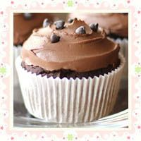 ... VEGAN~ Bittersweet Chocolate Quinoa Cupcakes with Chocolate Frosting
