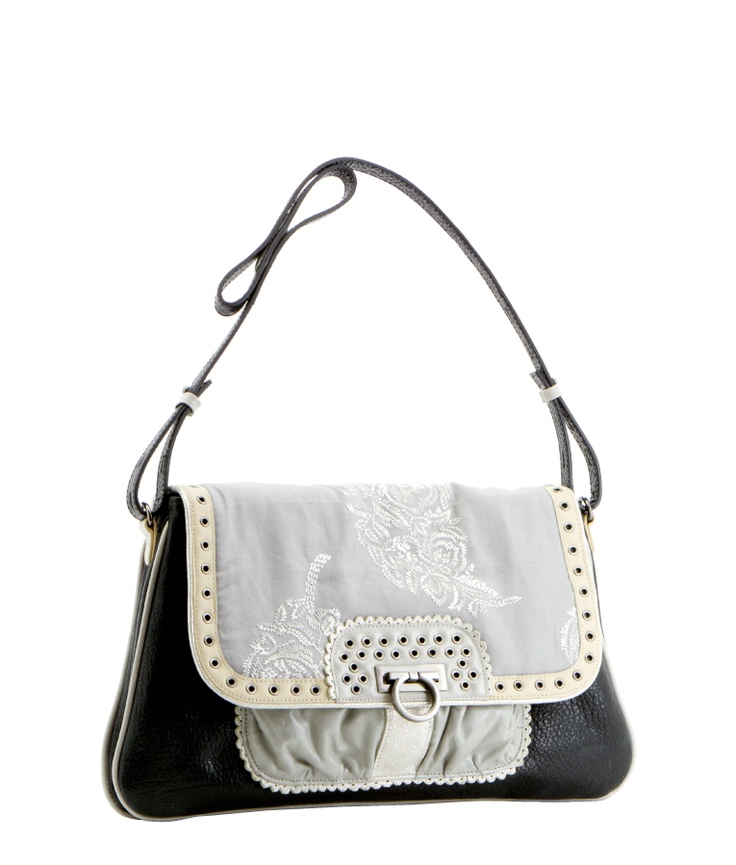 Spencer and Rutherford Mallory - Coconut Satchel Bag