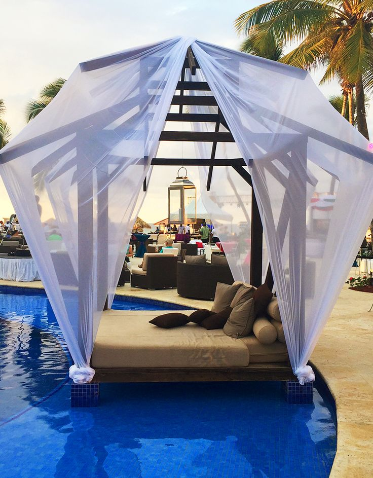 Spend your honeymoon curled up next to each other in one of our private cabanas. | Hyatt Zilara Rose Hall