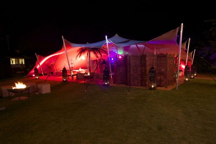 21st birthday party stretch tent!  #lightinghire #stretchtent #Freestretch #21stbirthday #party #event #alternativemarquee #coolmarquee
