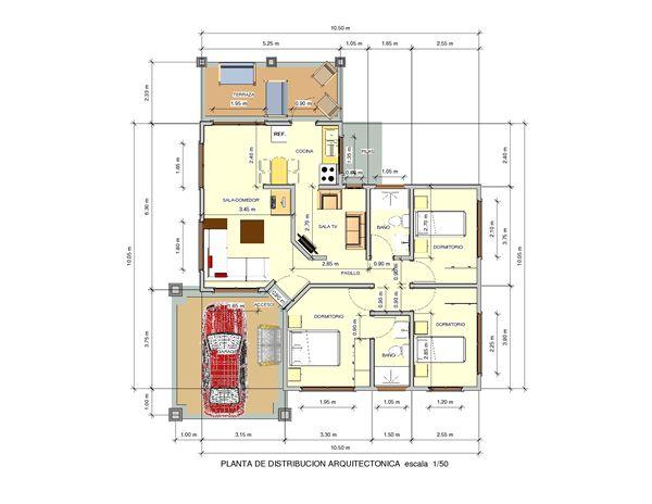 Casa 3d dise o 27 concremax cr casas casas en 3d - Diseno de casas 3d ...
