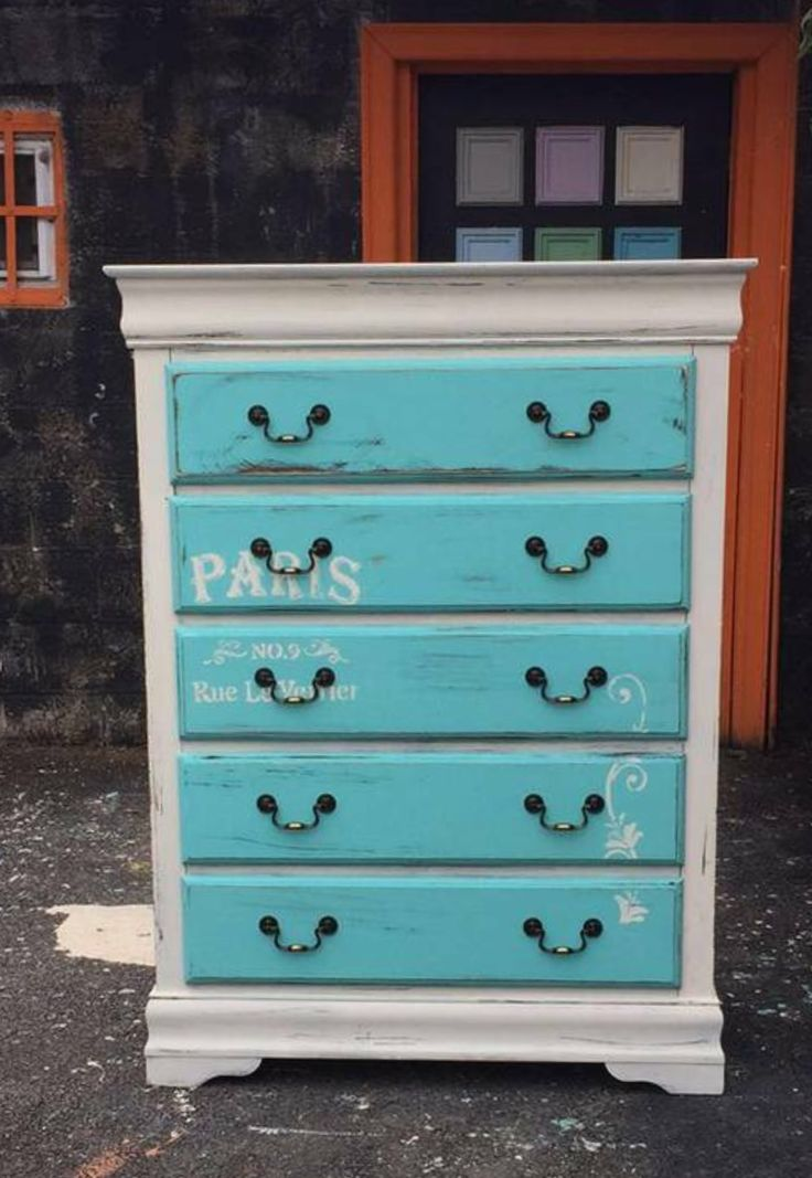 1000+ Ideas About Turquoise Painted Furniture On Pinterest