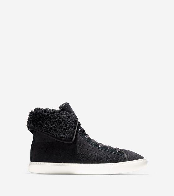 Sneakers > Raven Hightop Sneaker