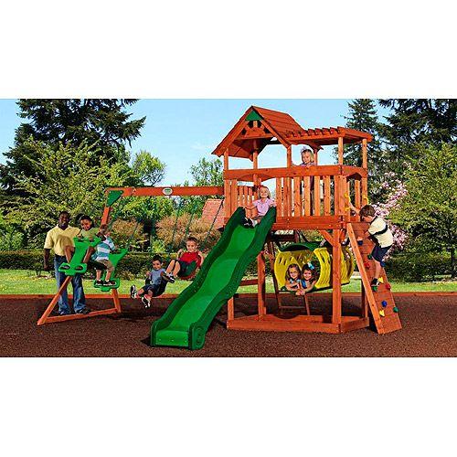 play set idea - Cedar Swing Sets