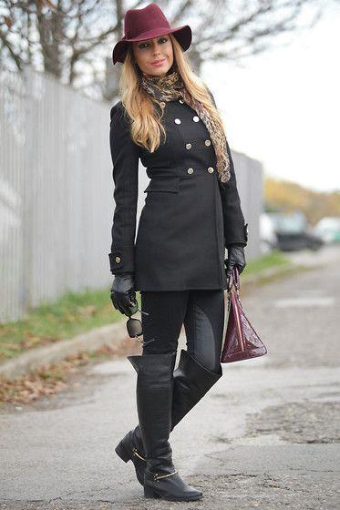 Burgundy in winter