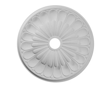 26 3/4in.OD x 3 5/8in.ID x 1 3/8in.P Elsinore Ceiling Medallion No Finish