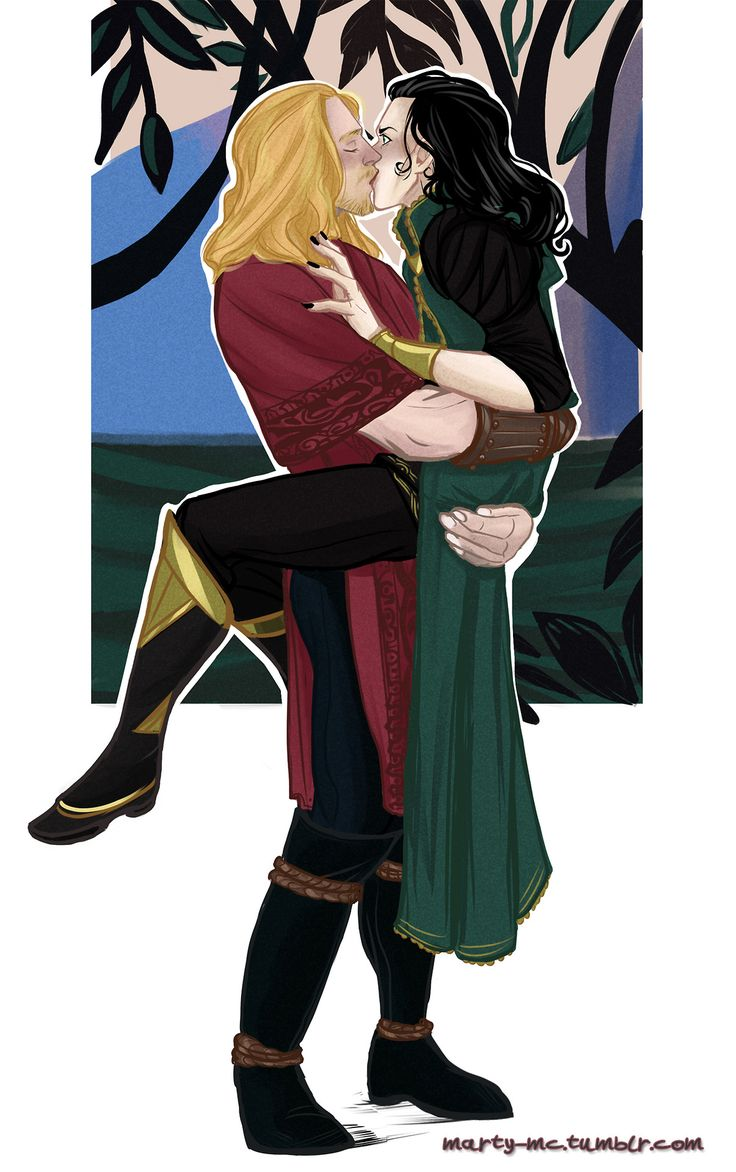 I wanted to draw a Thor/Loki version of this beautiful thing but something went wrong. Thor can't redo the same pose without touching or kissing his brother, damn. I sketched more things but they are crap.