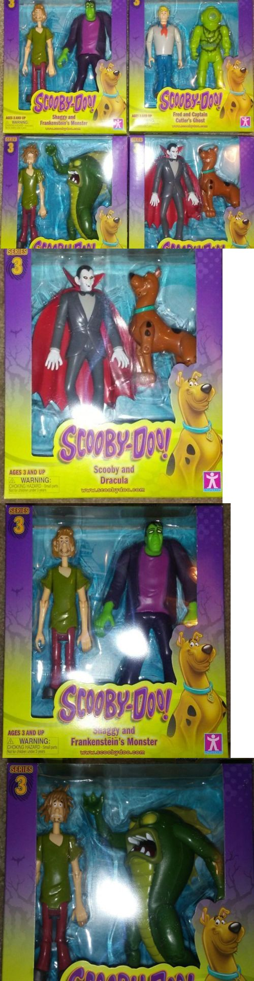 Scooby-Doo 11747: Scooby-Doo Fred Shaggy Frankenstein Dracula And Beast Of Bottomless Lake -> BUY IT NOW ONLY: $38.99 on eBay!
