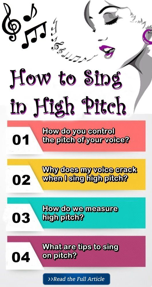 Here is All You Need to Know How to Sing in High Pitch