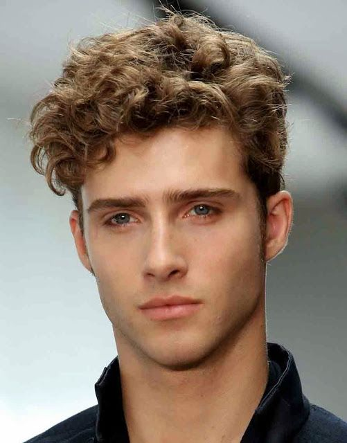 Curly Short Hairstyles For Men 2014