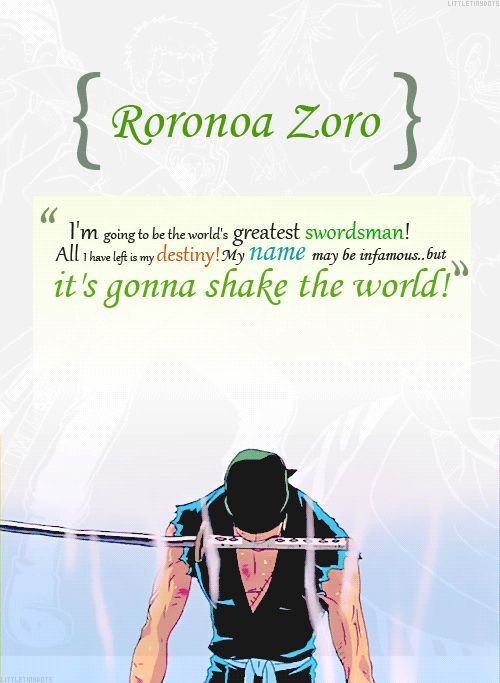 nico robin and zoro relationship quotes