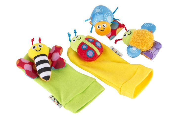 The entire range of Lamaze Toys and Lamaze Baby Toys. The Lamaze Gardenbug Wrist Rattles and Foot Finders  Toy- Refresh PRE-ORDER NOWis packed full with education for your child's development and skills.