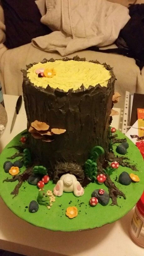 Forest cake. Thanks for the beautiful inspiration from this app :)