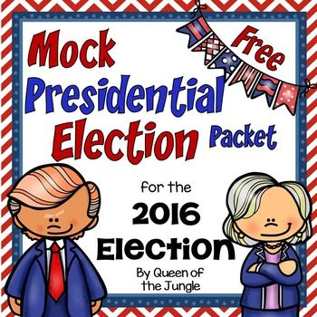 This packet contains everything you need to conduct a MOCK Election and teach students about the election process during the upcoming presidential election season. This packet contains materials for the 2016 Presidential Election. NOTE: This packet has been updated to include additional ballots and graphic organizers that include other party or write-in candidates.