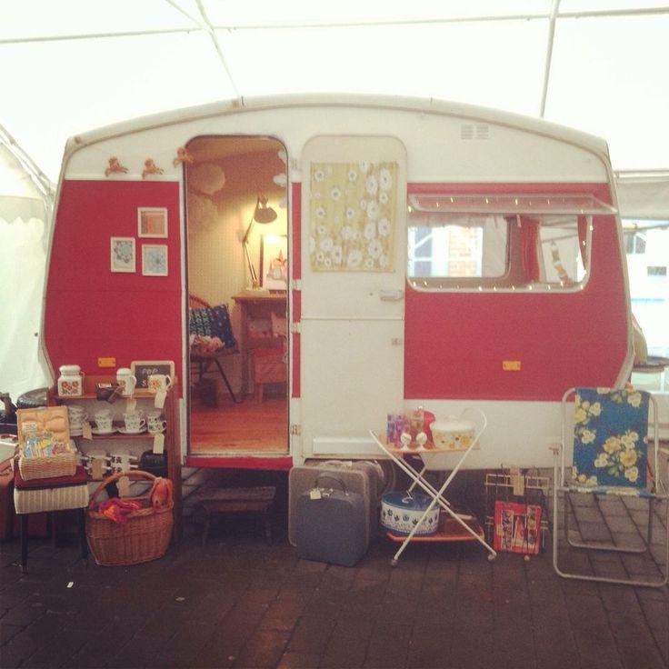 Vintage Retro Sprite 400 Caravan Workshop Playroom Mobile Shop Rare
