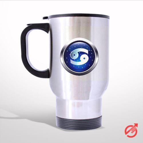 Zodiac Cancer Travel Mug