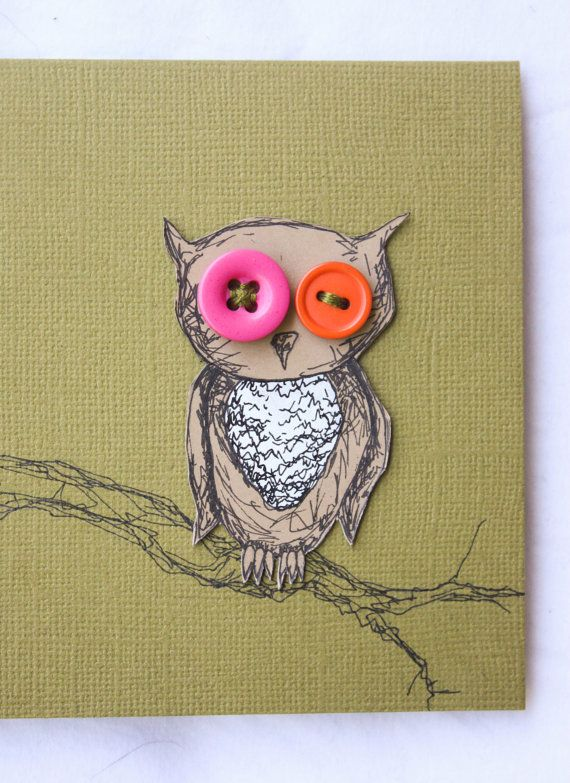 button owls