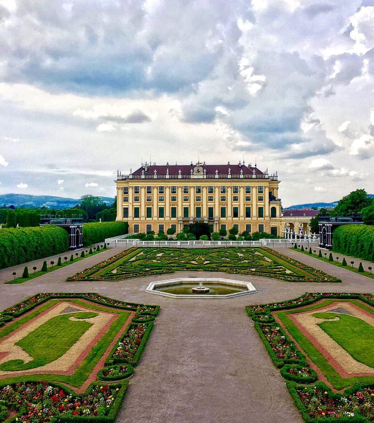 Schönbrunn Palace from the Palace Garden - Vienna Austria