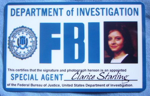 Clarice Starling's FBI Credentials