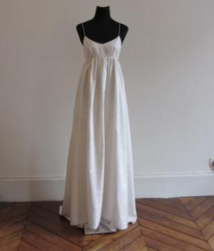 Robe de mariée défilé Galilée - Delphine Manivet