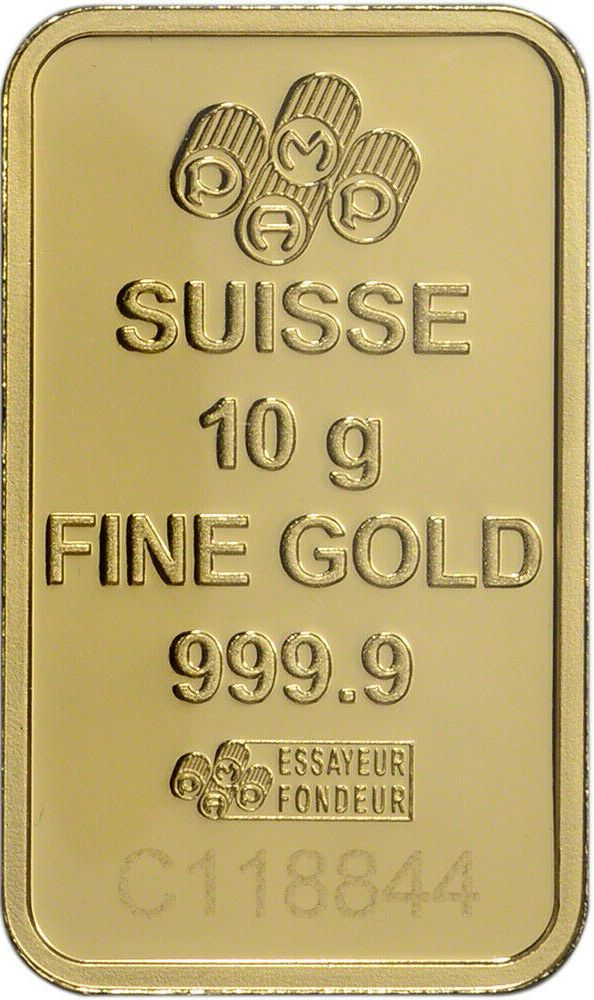 10 Gram Gold Bar Pamp Suisse Fortuna 999 9 Fine In Sealed Assay In 2020 Gold Bar Gold 10 Things