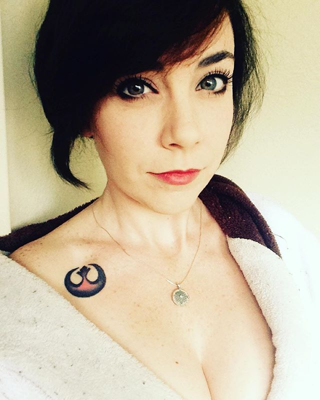 Pin for Later: 20 Tiny Star Wars Tattoo Ideas Perfect For Any Fan of the Force Alliance Starbird