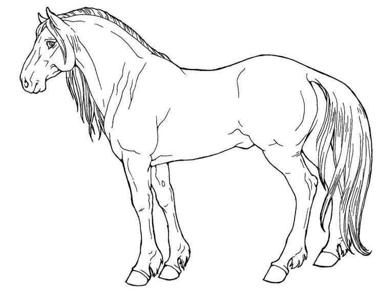 Free Line Art-Mustang by AppleHunter on DeviantArt