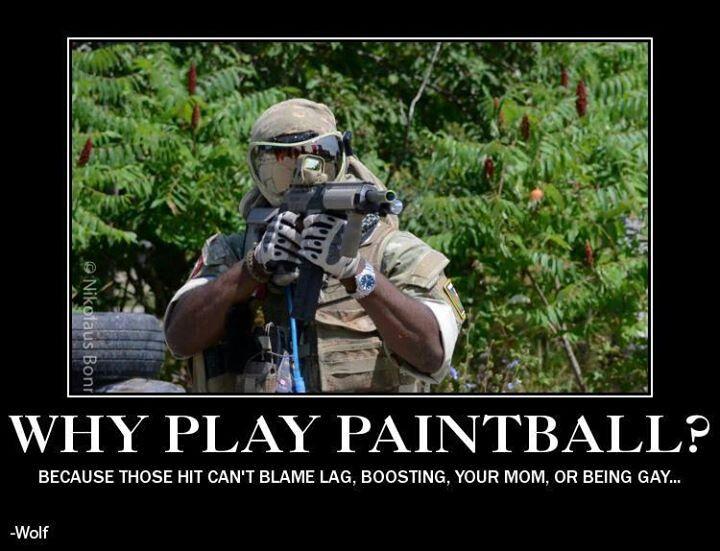 Paintball vs. Gamerz