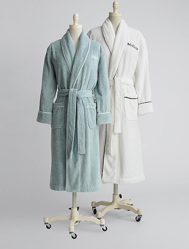 Made of 100% Turkish cotton, this robe is as luxurious as those offered at five-star hotels. Soft and inviting, the plush, thirsty cotton acts like a high-quality towel, making it perfect for après bath, hot tub or shower.