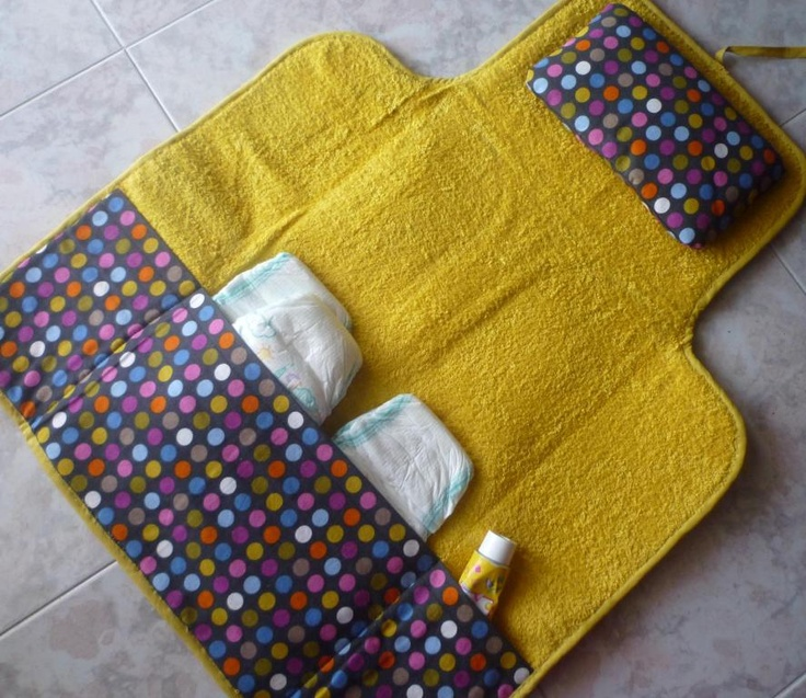Yellow chianging pad vallet - 2