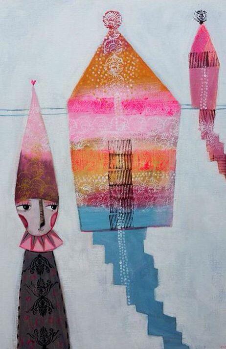 Acrylic, Painting, Camilla Hyllen