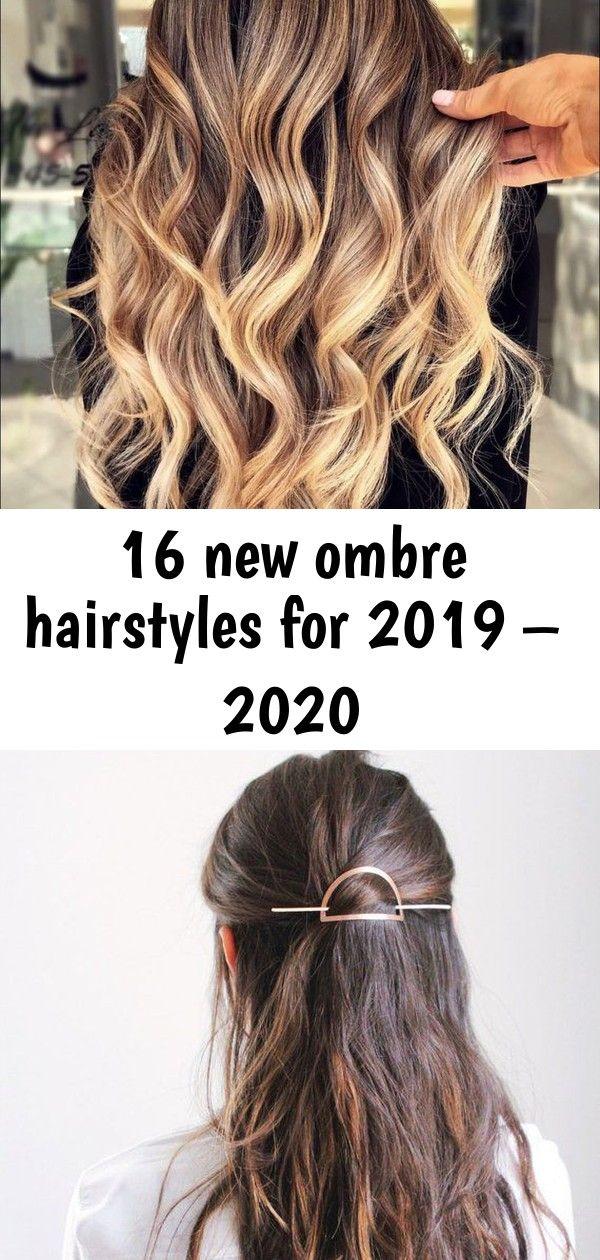 16 neue Ombre-Frisuren für 2019 - 2020