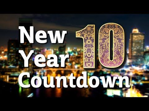 Free Download Happy New Years Countdown Video