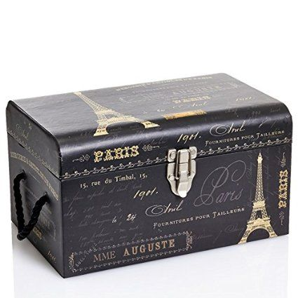 Paris Notebook Storage Chest   Small