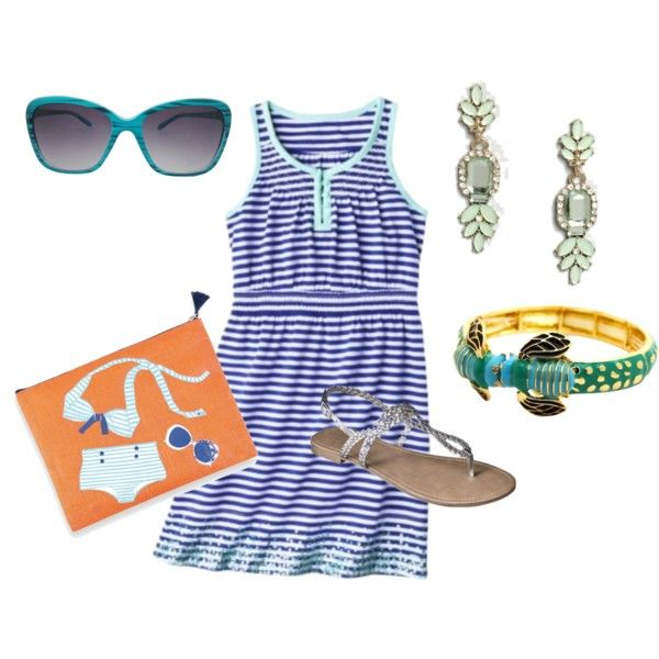 """Day 1 beach petite vacation"" by elishasauers on Polyvore"