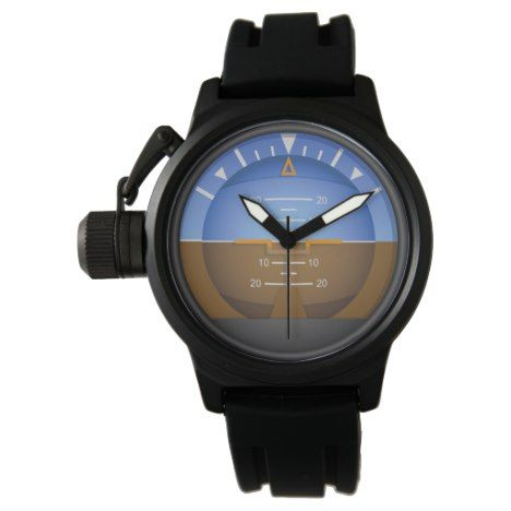 Attitude Indicator Wrist Watch - click/tap to personalize