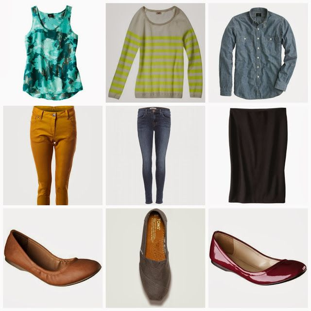 Dressy, Casual, and Business Outfits.