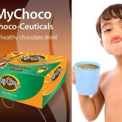 MyChoco Choco-Ceuticals Manufactured By Natures Way The Healthy Chocolate drink Price AU$20.00     It contain 20 sachets in 1 box