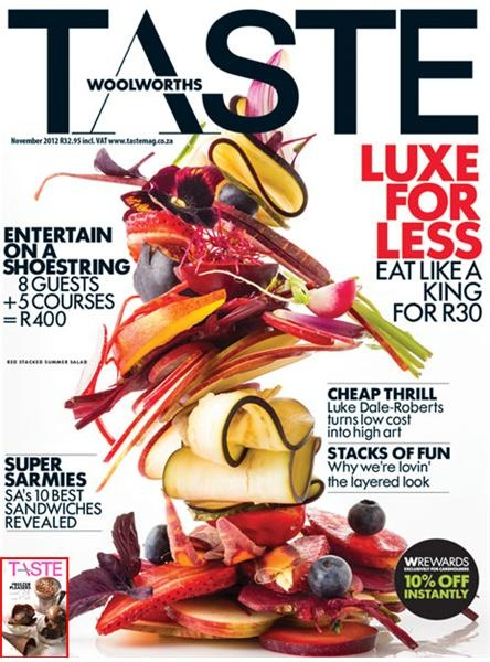 The November issue of TASTE is all about having fun on a shoestring. Click for more divine, penny-pinching food and cookery ideas.