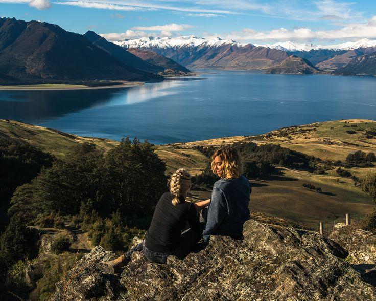 Isthmus Peak Hike New Zealand