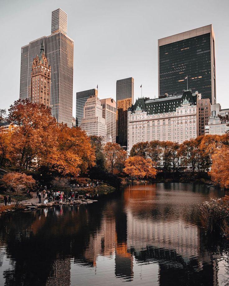 """Joe on Instagram: """"A quiet evening in New York … – #night #Instagram #Joe"""