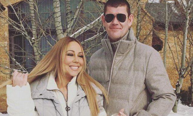 Mariah Carey posts flirty Instagram photo with beau James Packer