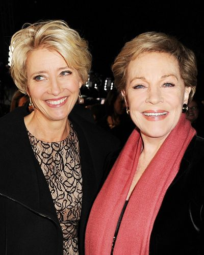 Inspirational people: Julie Andrews and Emma Thompson. Both amazingly talented and beautiful women. Both elegant, fierce and amazing speakers.