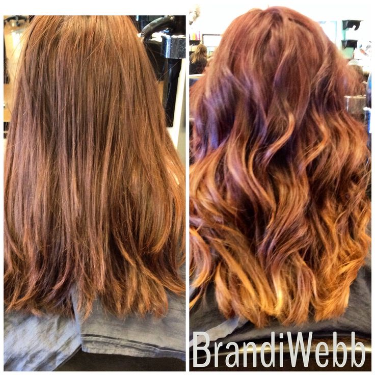 subtle ombre on red hair | Ombre Hair Color | Pinterest ...  subtle ombre on...
