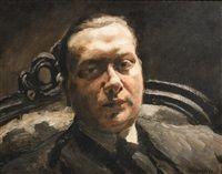 Porträt eines unbekannten Mannes, 1915