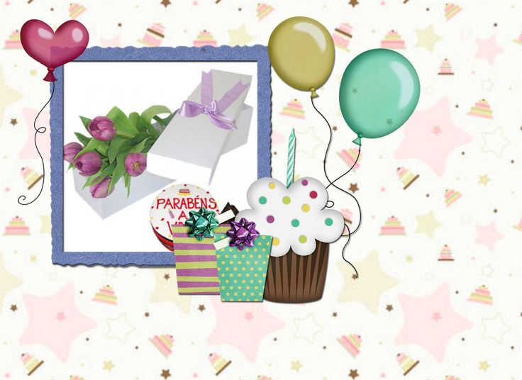 Moldura de feliz aniversario para amiga