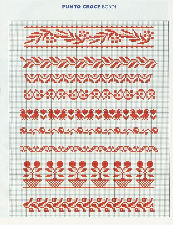 Cross Stitch Sampler - can use for Loom Beadwork  #heartbeadwork  #loombeading