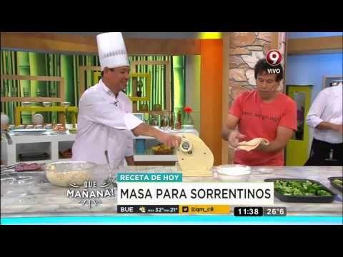 Sorrentinos con salsa de brócoli y findue de tomates - YouTube
