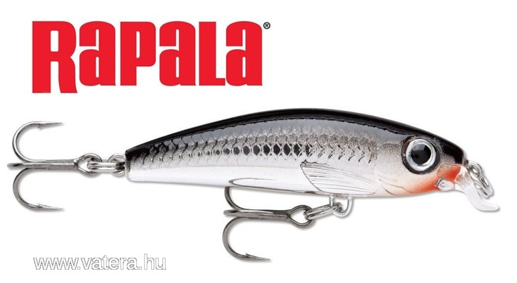 Rapala wobbler ULM-6 CH - 1999 Ft - Nézd meg Te is Vaterán - Műcsali - http://www.vatera.hu/item/view/?cod=1674235517