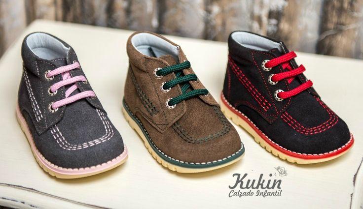 Este otoño invierno veremos mucho calzado infantil y juvenil de serraje. En el post de hoy vemos zapatos y botas clásicos.Comprar botas serraje niños online